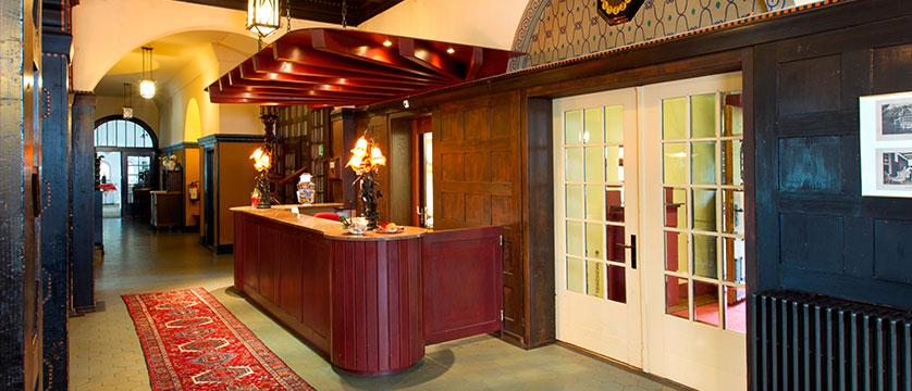 Hotel Belvedere, Wengen, Bernese Oberland, Switzerland - reception.jpg